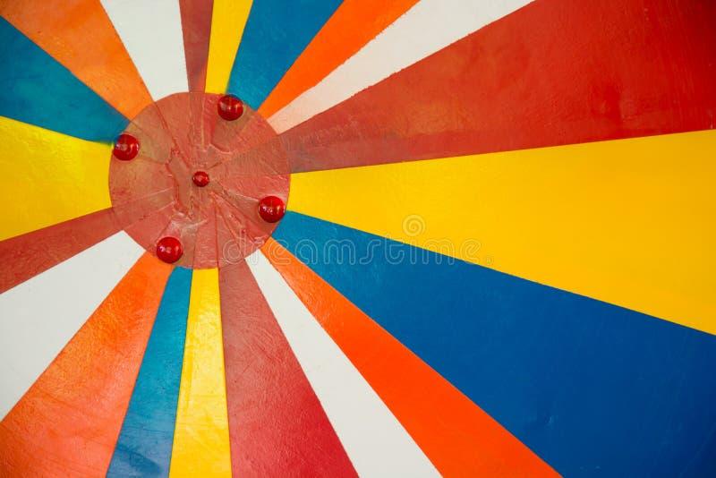 Roczników Sunbeams tło obraz stock