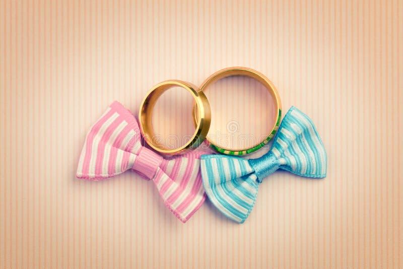 Rocznik Ślubnej karty stylowy tło zdjęcie royalty free