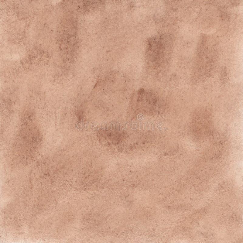 Rocznik akwareli ręka malująca tekstura obrazy stock