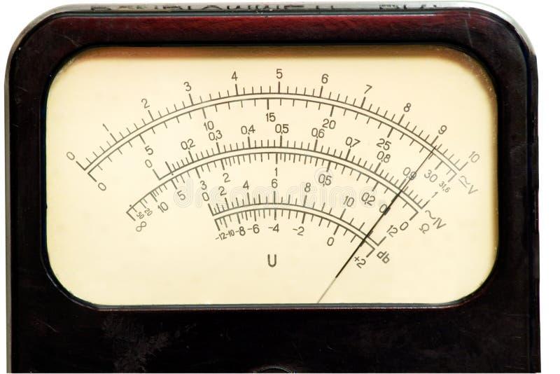Rocznik analogowa skala fotografia stock