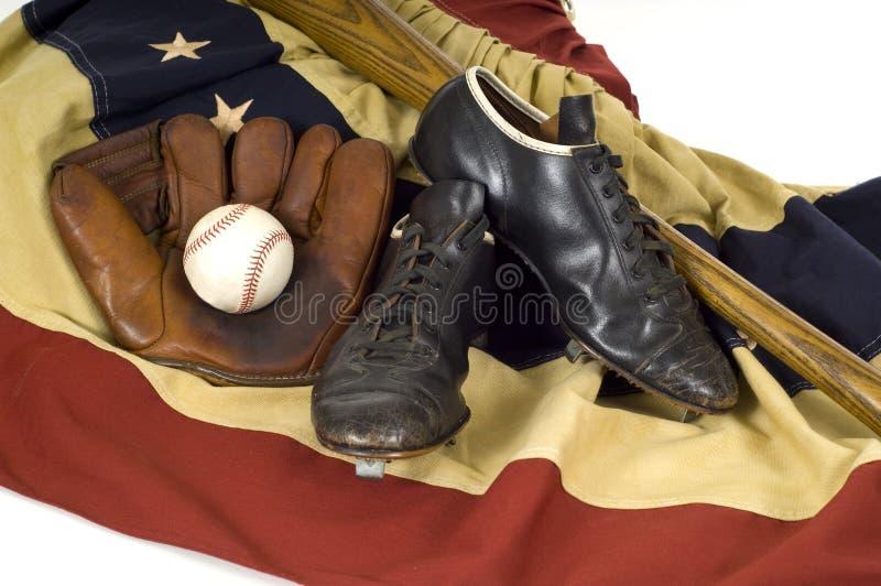rocznik biegu baseballu zdjęcia stock