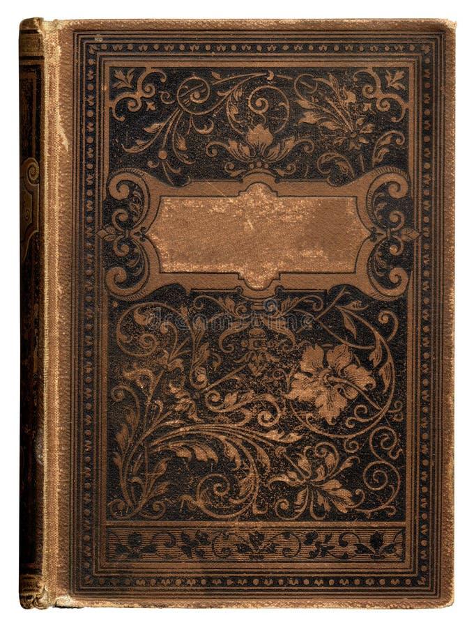 rocznik bookcover zdjęcie stock
