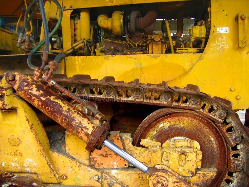 rocznik buldożeru zdjęcie royalty free