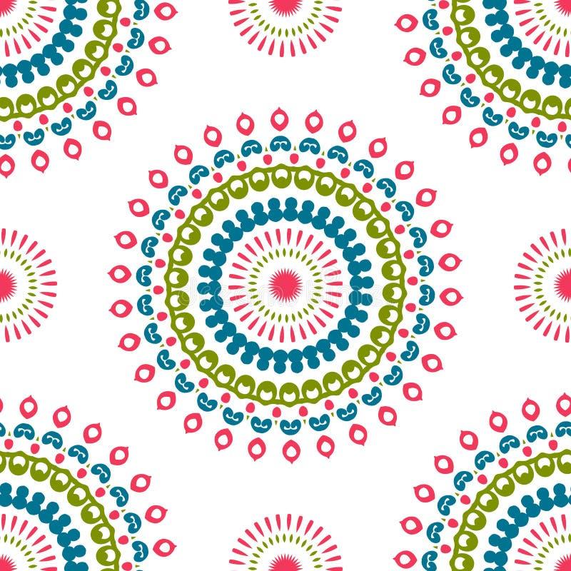 Rocznik cechy ogólnej różni bezszwowi wschodni wzory (taflować) ilustracji