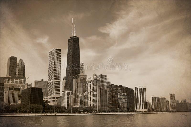 Rocznik Chicago fotografia royalty free