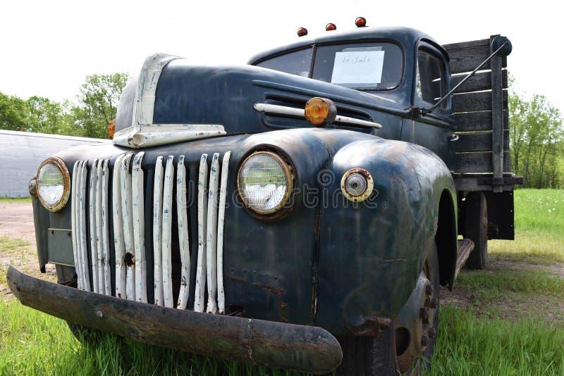 Rocznik ciężarówka fotografia stock