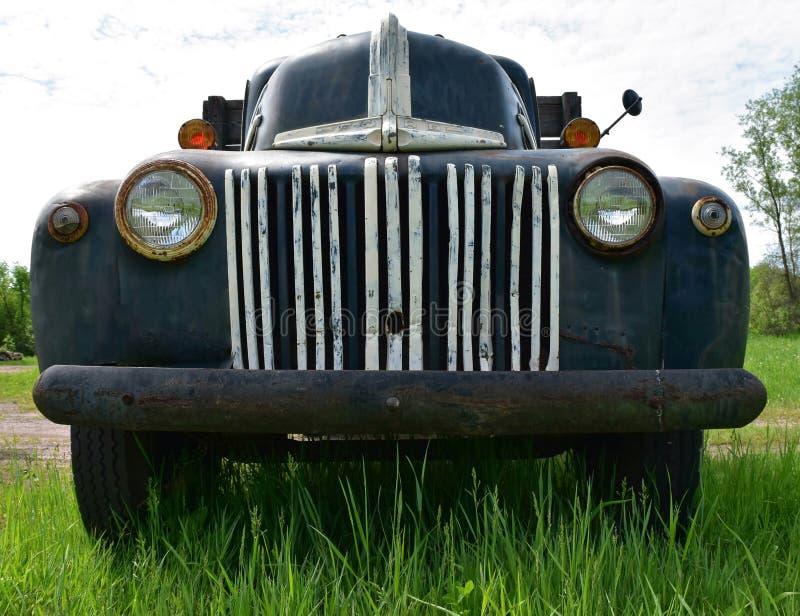 Rocznik ciężarówka obraz stock