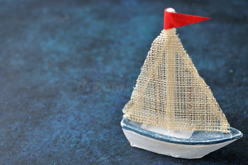 Rocznik drewniana łódź obraz royalty free