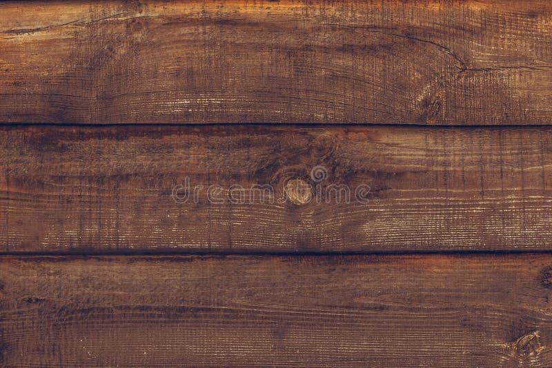 Rocznik drewniana tekstura deska Grunge drewna ?ciany wz?r ogrodzenie Stara drewniana ciemnego br?zu t?a tekstura Retro drewniany obraz royalty free