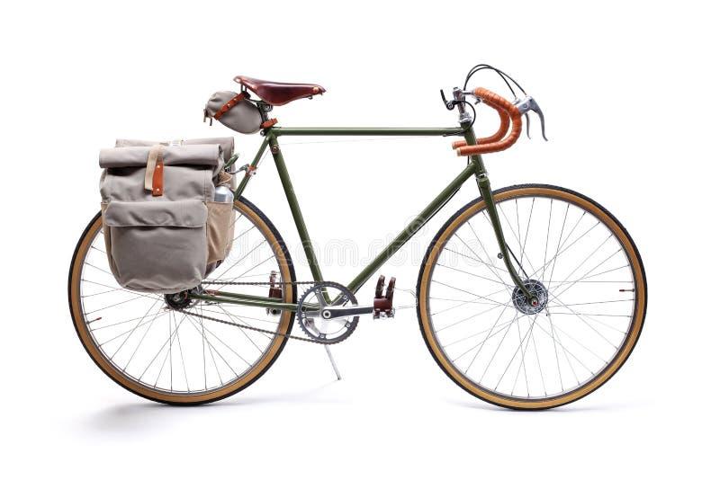 Rocznik drogi bicykl fotografia royalty free