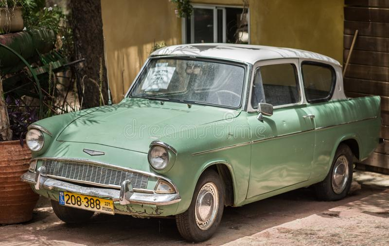 Rocznik Ford Anglia 1962 obraz royalty free