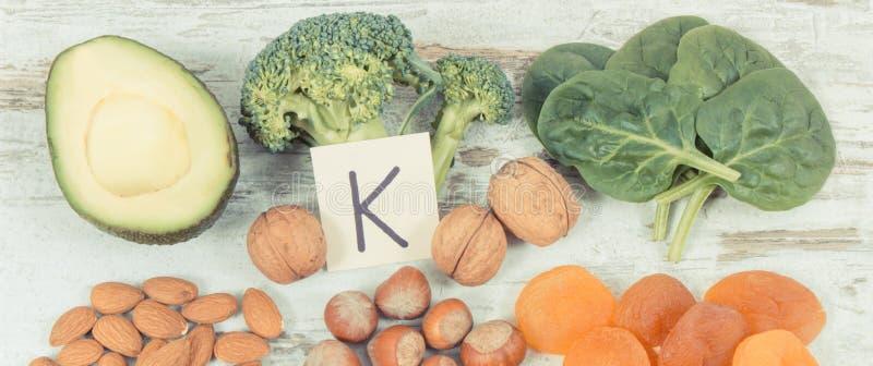 Rocznik fotografia, Naturalni składniki jako źródło potas, witamina K, kopaliny i włókno, fotografia stock