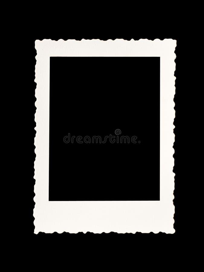Rocznik fotografii granica zdjęcia stock