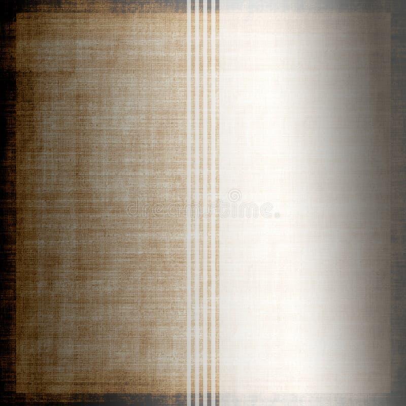 rocznik goły tkaniny royalty ilustracja