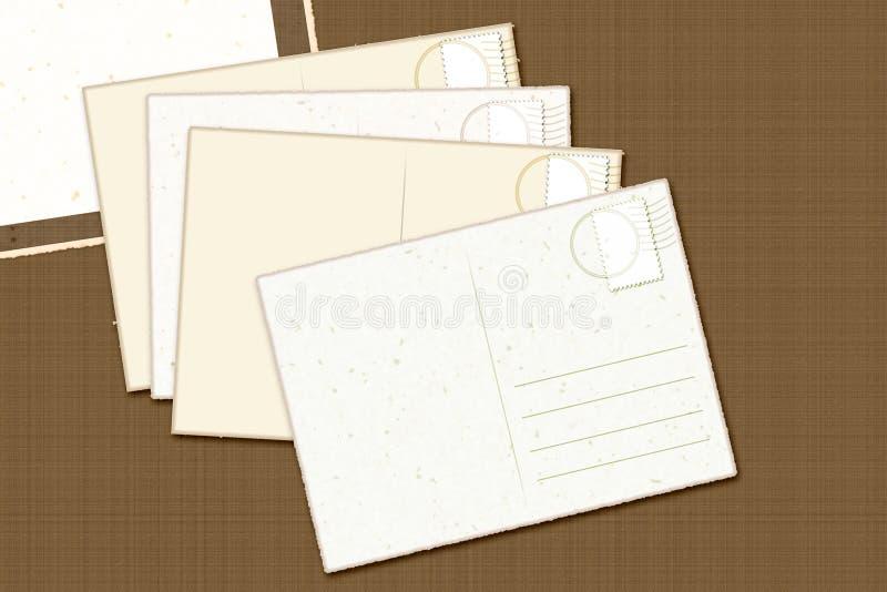 rocznik kartkę obrazy stock