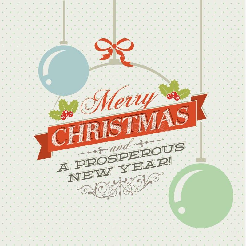 Rocznik Kartka bożonarodzeniowa