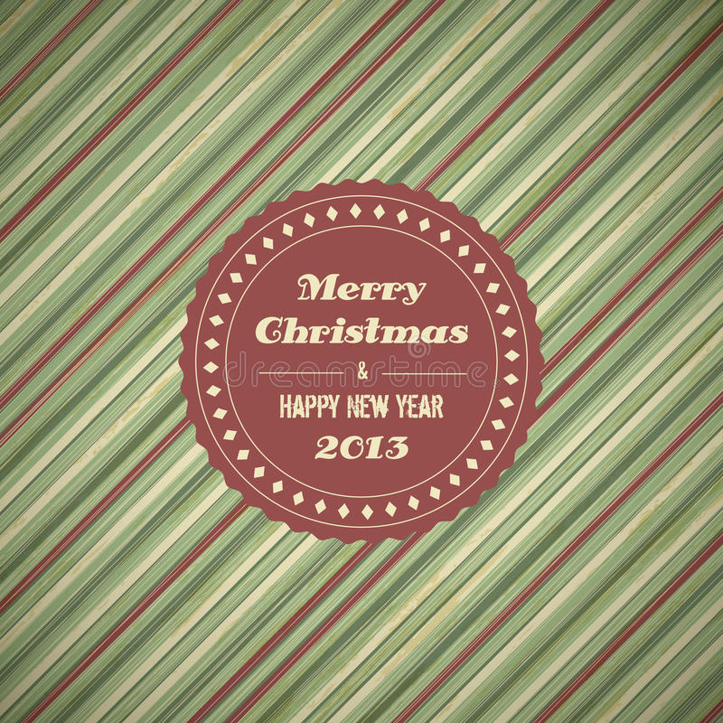 Rocznik kartki bożonarodzeniowa tło ilustracji