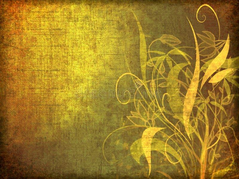 rocznik kwiecisty tło ilustracji