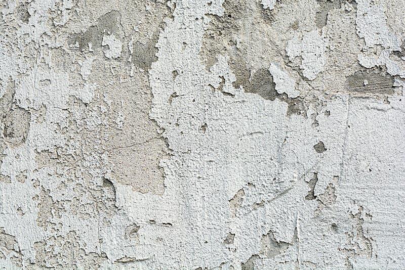 Rocznik lub ściana biały tło naturalny cement lub kamienna stara tekstura jako retro wzoru ściana zdjęcia royalty free