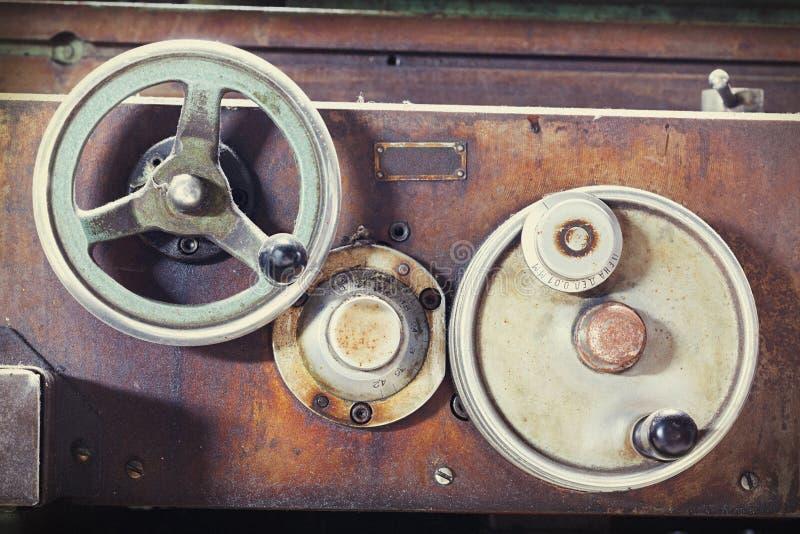 Rocznik maszyna obrazy stock