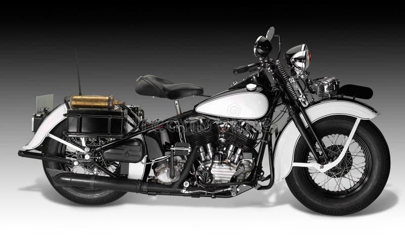 Rocznik Motorbike obraz royalty free