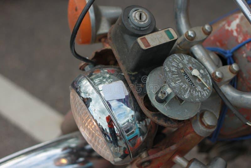Rocznik Motorbike obrazy stock