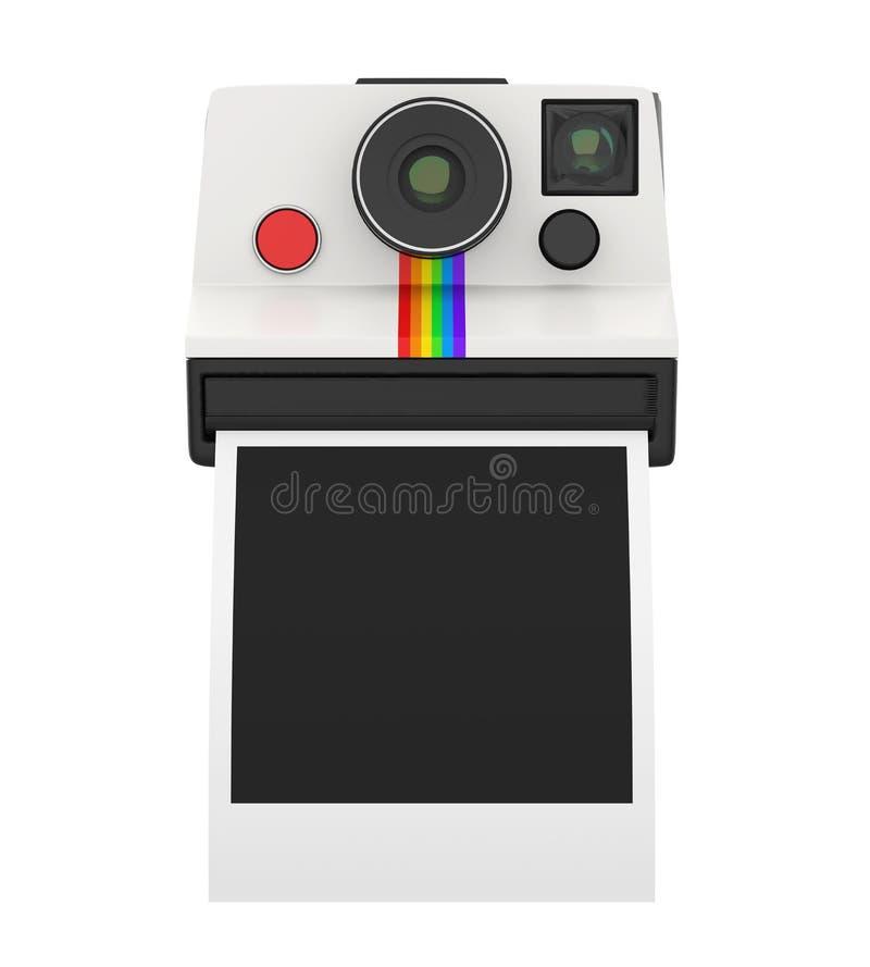 Download Rocznik Natychmiastowa Kamera Odizolowywająca Ilustracji - Ilustracja złożonej z wyposażenie, papier: 106905016