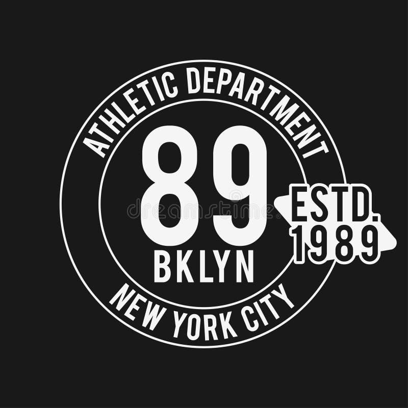 Rocznik odznaka, sportowego sporta typografia dla t koszulowego druku Uniwerku styl Koszulki grafika ilustracja wektor