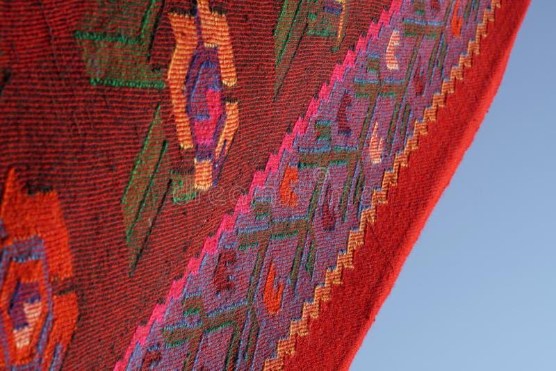 Rocznik, orientalny, kolorowy handmade tradycyjny woolen dywanik, fotografia royalty free