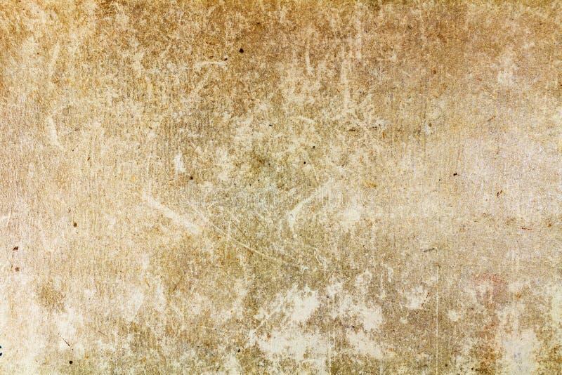 Rocznik papierowa tekstura z fadingiem i punktami abstrakcyjny tło zdjęcia stock