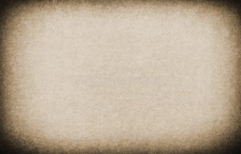 Rocznik Paskujący Papierowy Tekstury Tło obrazy stock