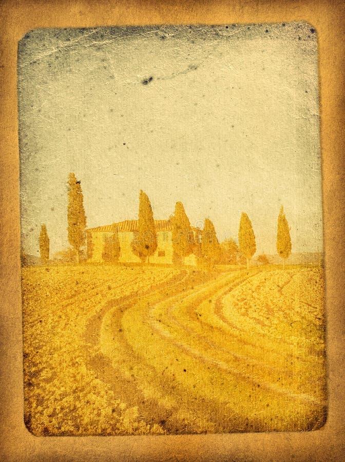 Rocznik pocztówka ilustracji