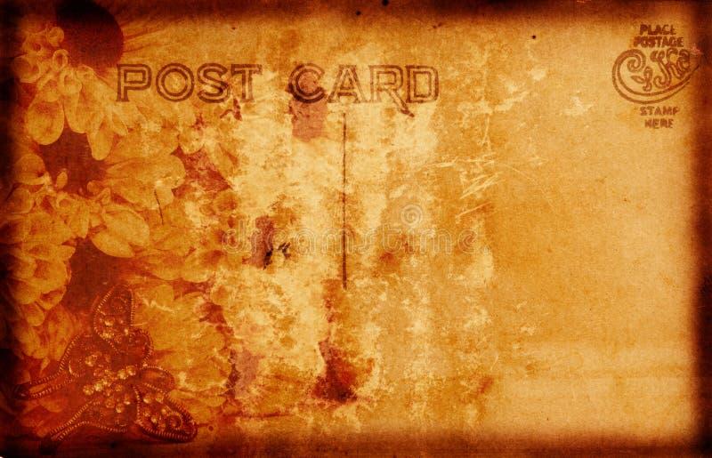 rocznik pocztówkowy ilustracja wektor