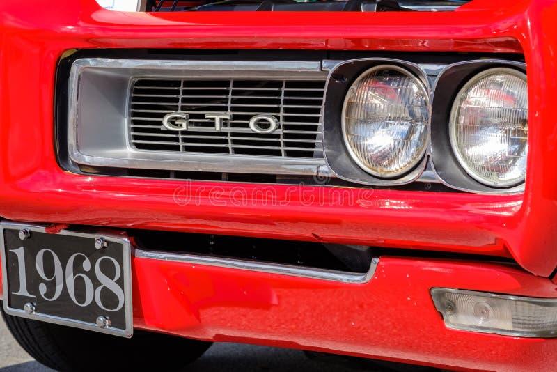 Rocznik Pontiac GTO zdjęcie royalty free