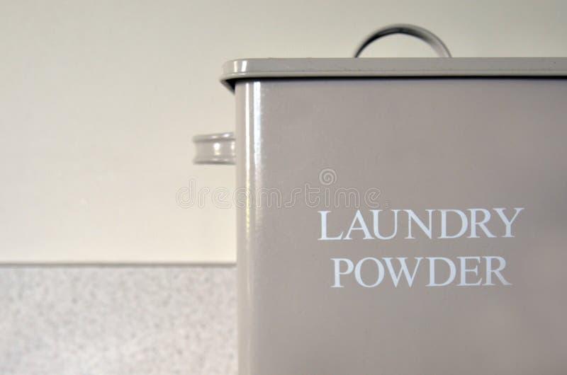 Rocznik pralni proszka stary pudełko zdjęcia royalty free