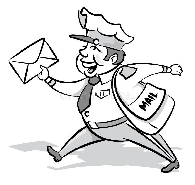 Rocznik Projektujący Mailman z listem ilustracji