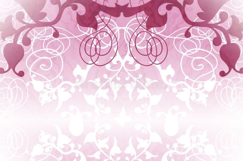 rocznik różowy ilustracji