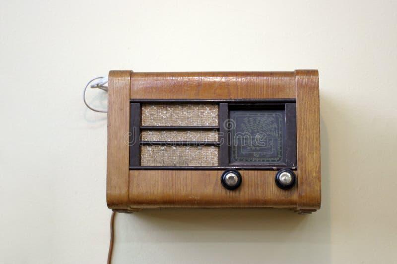 rocznik radiowego obraz stock