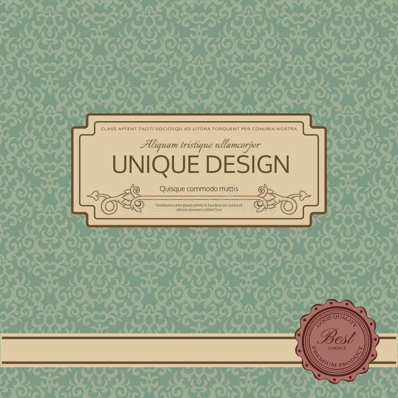 Rocznik rama ilustracji