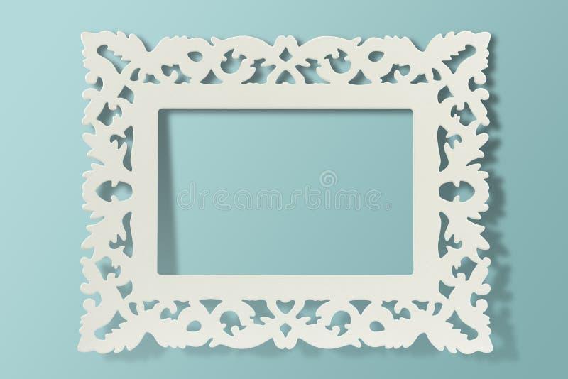rocznik ramowa ściana zdjęcie stock