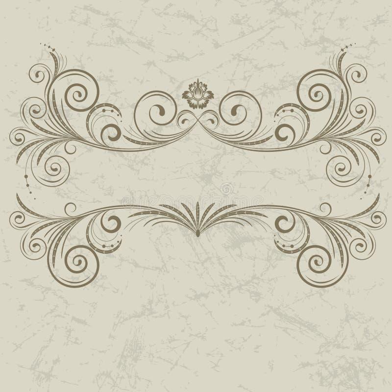 rocznik ramowy royalty ilustracja