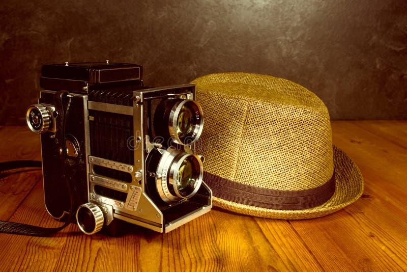 Rocznik retro kamera zdjęcie royalty free