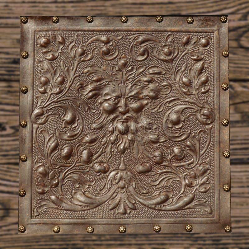 Rocznik skóry tekstura obraz royalty free