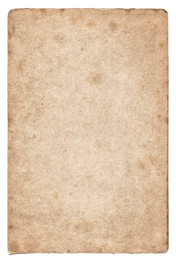 Download Rocznik Stara Papierowa Tekstura Odizolowywająca Zdjęcie Stock - Obraz złożonej z antyk, papier: 57673558