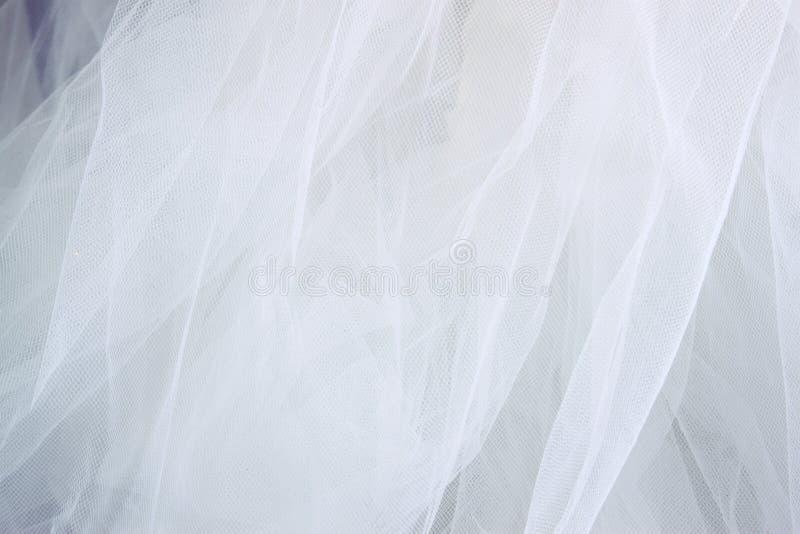 Rocznik tekstury tiulowy szyfonowy tło pojęcia sukni panny młodej portret schodów poślubić zdjęcie royalty free