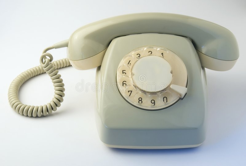 rocznik telefonu obrazy stock