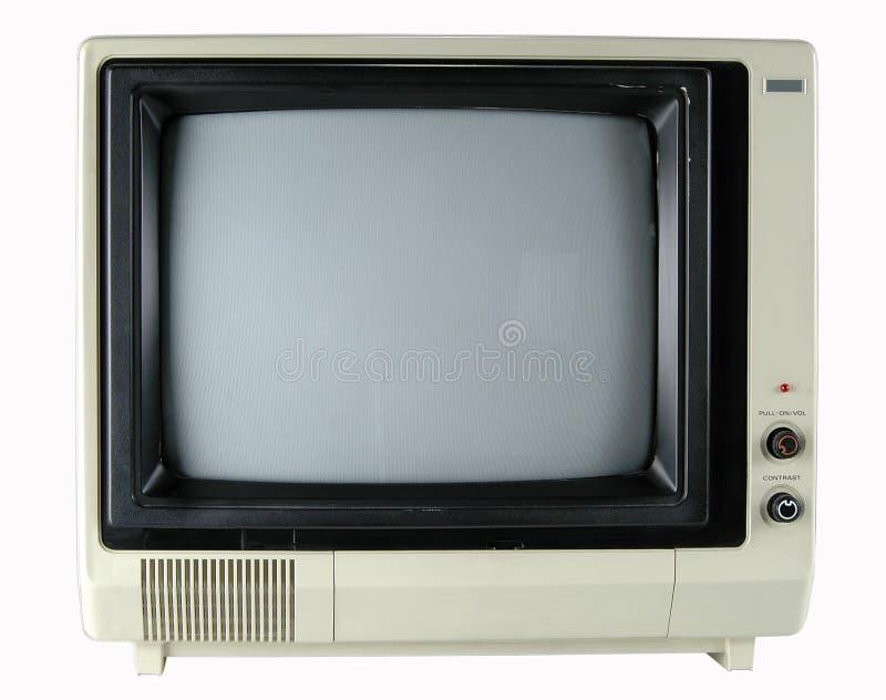 rocznik telewizyjnych obrazy stock