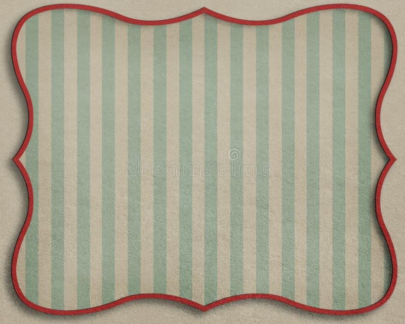 Rocznik textured tło z ramą. ilustracji