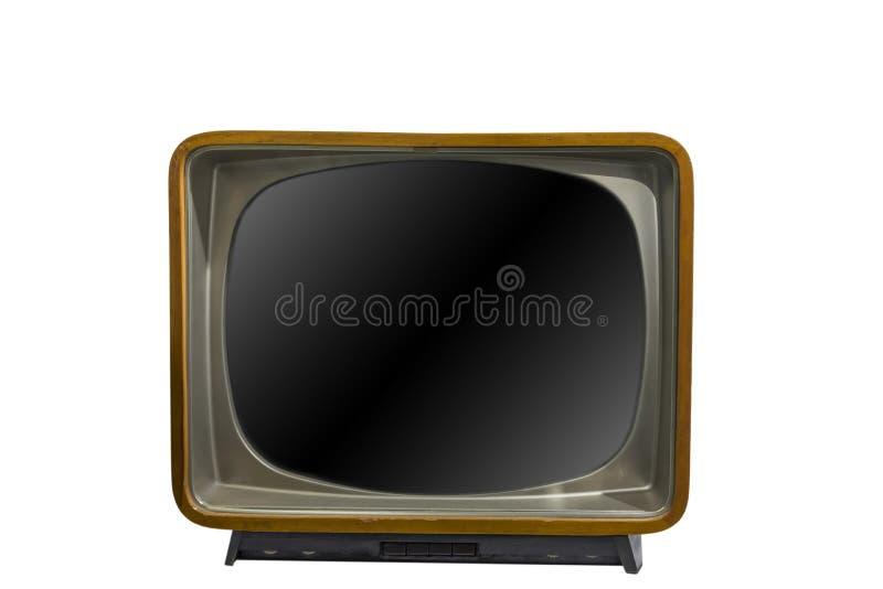 Rocznik tv lub telewizja zdjęcia royalty free