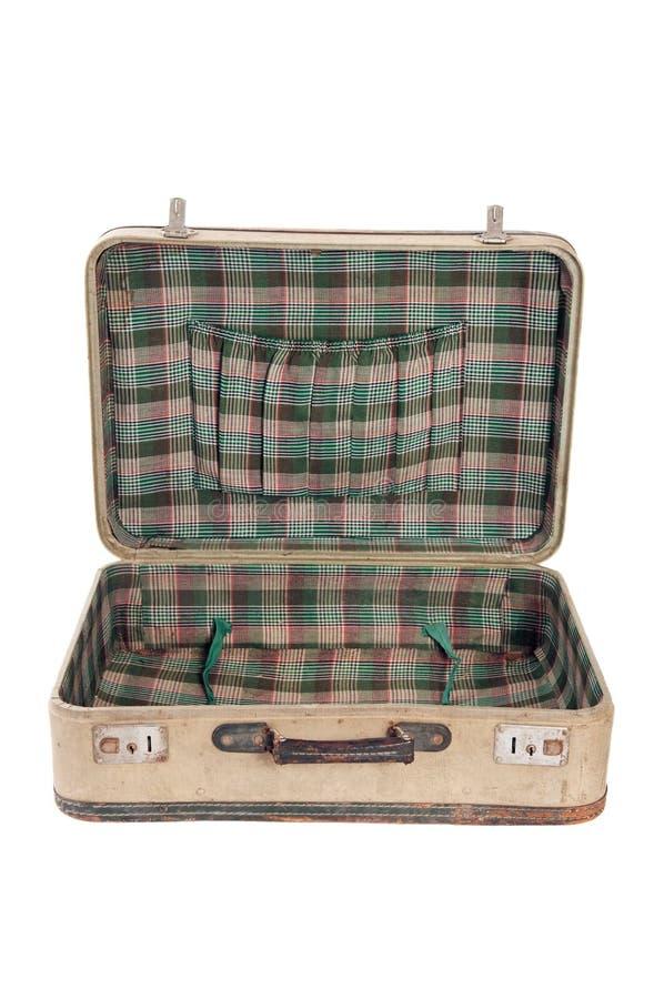 Rocznik walizka zdjęcia stock